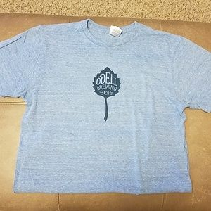 Odell Brewing blue unisex tshirt